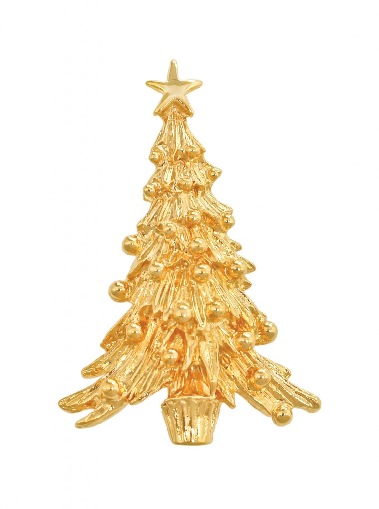 Napier Jewelry Christmas Pins and Christmas Tree