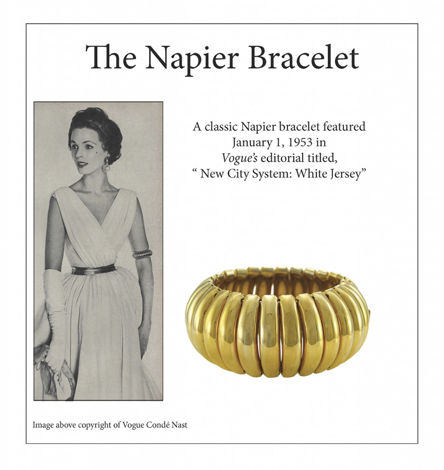 The Napier Gloria Swanson Bracelet