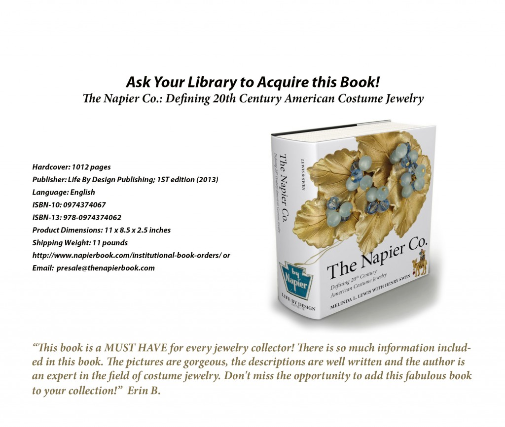 Ask your local community library to purchase The Napier Co. book.